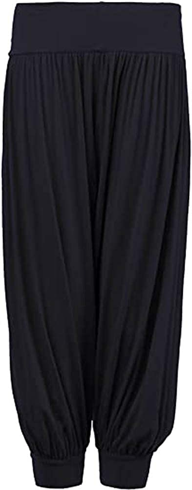 OgLuxe Kids Stretchy Harem Casual Baggy Sports Dancing Pants Girls Trousers