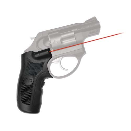 Crimson Trace LG-415 Lasergrips with Red Laser, Heavy Duty Construction and Instinctive Activation for Ruger LCR & LCRX Pistols, Defensive Shooting and Competition