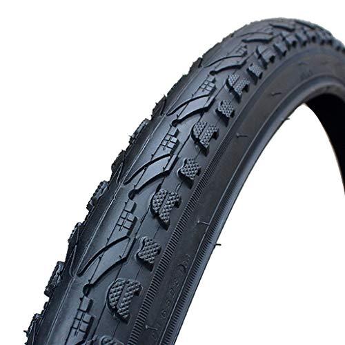 LXRZLS Neumático de Alambre de Acero de neumático de Bicicleta 16 20 24 26 Pulgadas 1.5 1.75 1.95 26 * 1-3/8 Piezas de Llantas de Bicicletas de montaña (Color : 24X1.75)