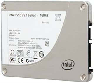 Intel SSDSA2BW160G301 320 Series 160 GB SSD - 2.5 SATA II MLC - 1 Pack [並行輸入品]