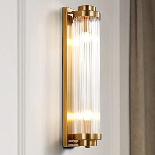 LINCCW E14 Redondo Color dorado lámpara de pared Giratorio Cuarto Moda Creativo Iluminación de pared Lámpara de noche Lampara de lectura metal cristal material Para sala de estar balcón Luz interior