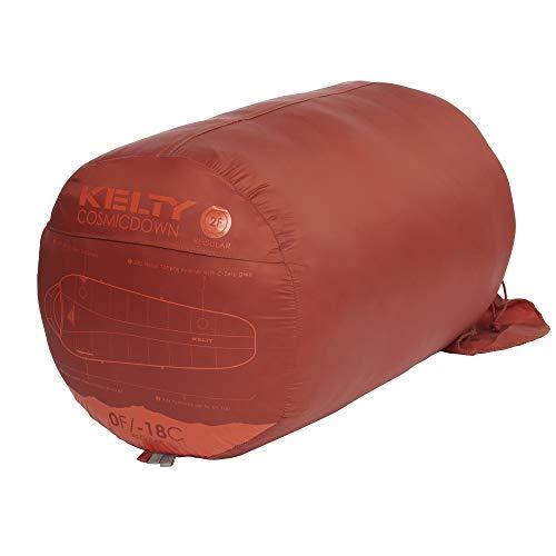 Kelty Cosmic 0 Degree Down Sleeping Bag - 4 Season Backpacking Sleeping Bag - Stuff Sack Included