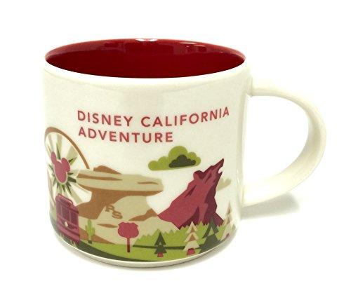 Starbucks You Are Here Mug Disney California Adventure Edition