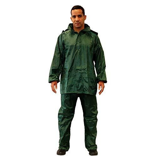 Gahibre 423 Traje agua completo chaqueta/pantalón nylon, extra ligero