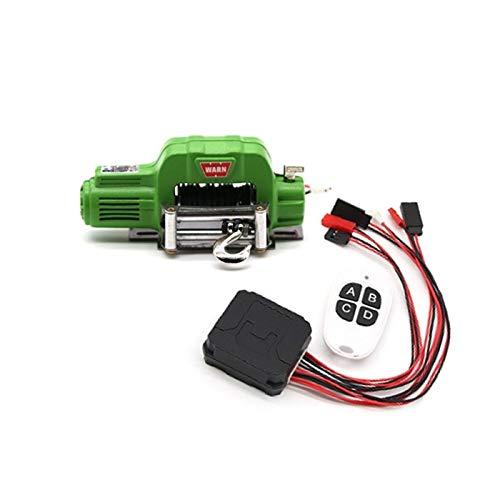Heritan Sistema de mando a distancia de metal automático para 1/10 RC Crawler Car Axial SCX10 TRX4 piezas de actualización, 2