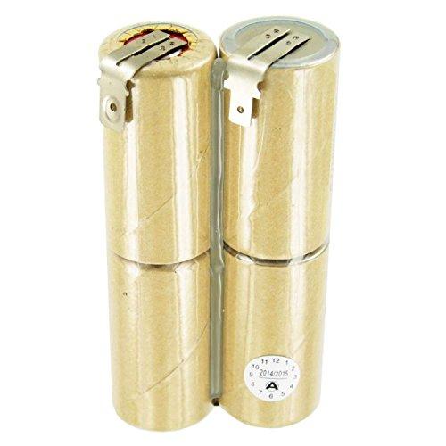 Gardena ACCU4 accu geschikt voor Gardena 4,8 volt, 6,3 en 4,8 mm contacten, NiMH accu 3000 mAh