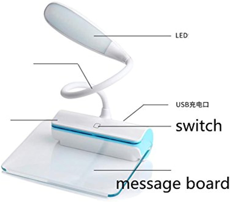 YMXJB Creativ-Message-Board LED Tisch Lampe Schlafzimmer Lampe Nachttisch Lampe Dekoration Neuheit Nachtlicht