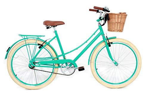 Bicicleta Vintage Retro Food Bike Antiga Ceci Linda (Azul turquesa)