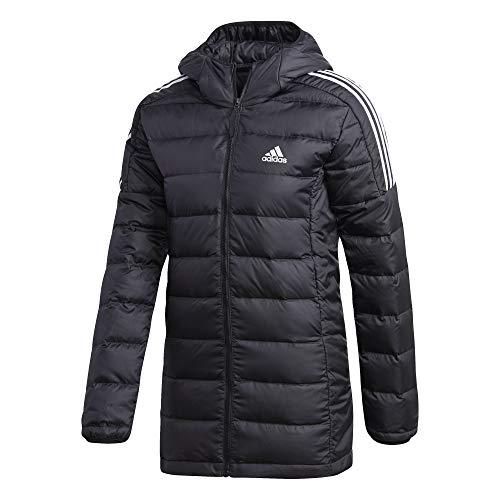 adidas W ESS Down PAR Jacket, Black, L Women's