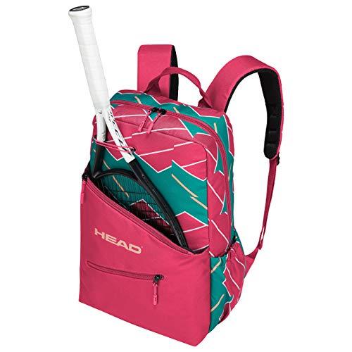 HEAD Unisex– Erwachsene Women's Backpack pink/Green Tennistasche, PKGE, Einheitsgröße
