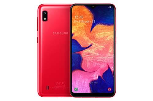 Samsung Galaxy A10 - Smartphone 32GB, 2GB RAM, Dual SIM, Red