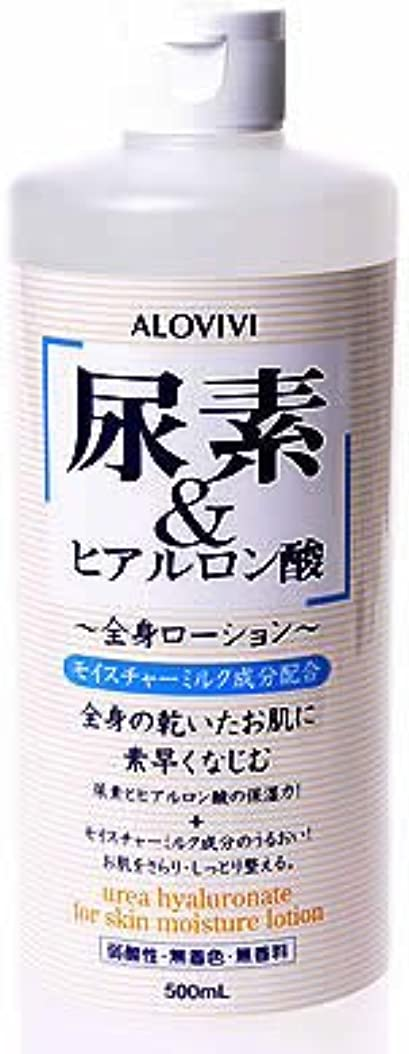 勧告名門額アロヴィヴィ 尿素&ヒアルロン酸全身ローション 500ml