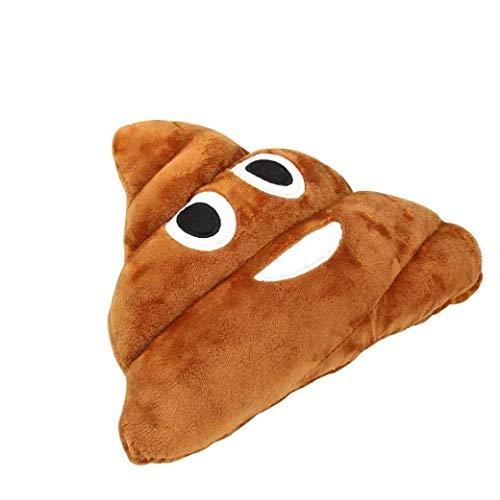 NaisiCore Poop-Kissen-Plüsch-Spielzeug-Puppe defäkieren Pad Wurfstuhlkissen Sitz täglicher Bedarf