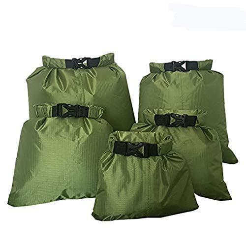 Fairylove Waterproof Dry Bag Set, Waterproof Pouch, 5 Pcs Waterproof Dry Bag Storage Pouch Bag for...