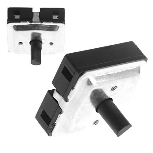 Folewr Interruptor giratorio apagado/bajo/medio/alto para calentador de ventilador 1 pieza 4 posiciones
