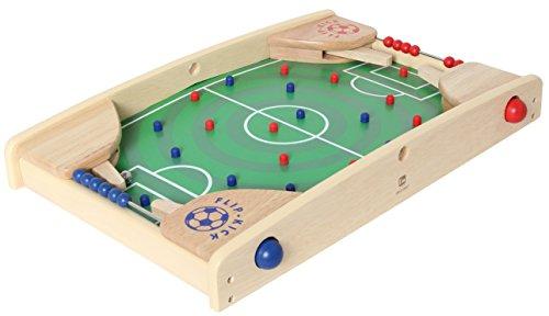 Flip Kick Petit, 43 cm, mélange Flipper et Kicker, Le Jeu Parfait de compétences de Football pour 2 Joueurs de Tous âges, Compact et Robuste, adapté à Toute Table ou Plancher et Facile à Transporter