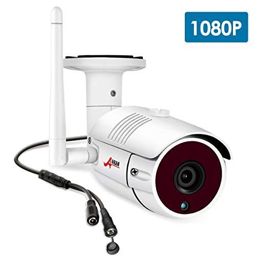 SWINWAY 1080 p impermeable al aire libre cámara WiFi interior para ANRAN&SWINWAY sistema de cámara de seguridad inalámbrica, viene con adaptador de corriente convertidor