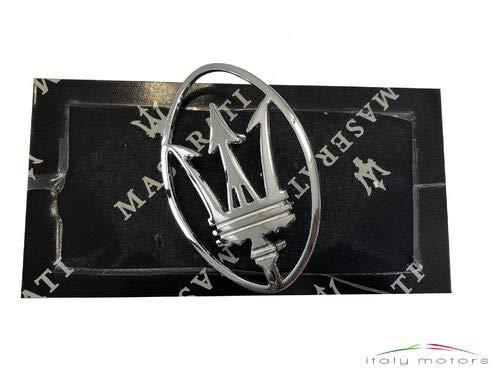 Maserati Original Dreizack Tridente Kofferraum Emblem Metal 364702109