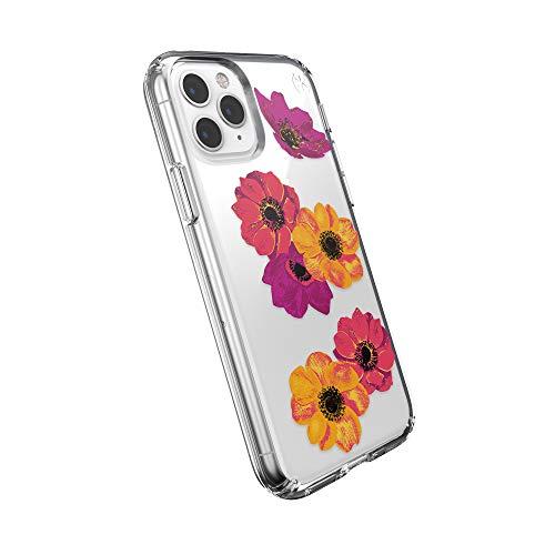 Speck Presidio Clear + Print iPhone 11 ProCase, Pop Art Floral/Clear