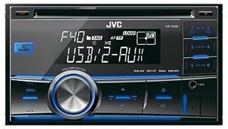 JVC KD-R331E Radio CD para coche color negro 200 W, doble AUX-IN