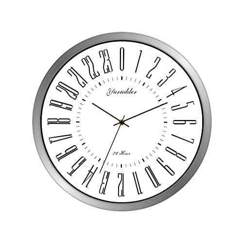 GZHJSP Diseño de dial 24 Horas 2 Sala de Estar 12 Pulgadas...