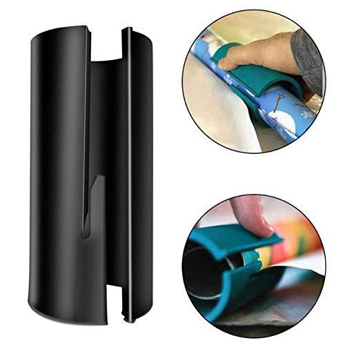 Krimpfolie Robuust en duurzaam Kerstmis Paper Cutting Tool Cylinder Paper Cutter inpakpapier Snijder (zwart) spanbanden label machine elektrische pomp (Color : Black)