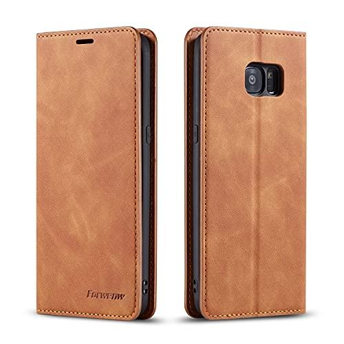 Teléfono Flip Funda Funda de billetera de cuero de PU multifunción para Samsung Galaxy S7,2 en 1 Flip Cartera Magnética Holder Funda de fundidor, Funda de cubierta de fondo TPU con ranura para tarjeta