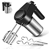 REDMOND Hand Mixer, 6-Speed Electric Hand Mixer with Turbo Handheld...