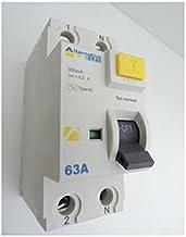 Disjoncteur 6A 1P+N courbe C 4.5KA bornes vis avec porte /étiquette norme CE ALTERNATIVE ELEC AE12206
