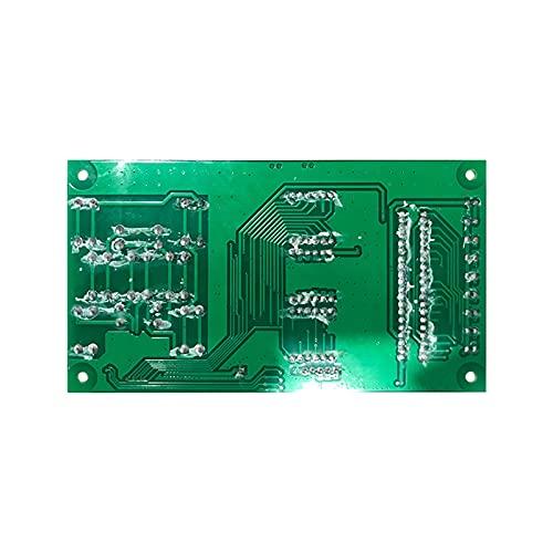 durable Pantalla digital Tiempo de frecuencia Corriente eléctrica Placa de circuito TARJETA DE CIRCUITO IMPRESO Limpiador ultrasónico Ajuste para generador de ultrasonido Wearable ( Color : 220V )