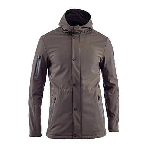 Lumberjack Parka Giubbotto Uomo Windytex Trilayer 3 Colori Art.55021 (Military Green - L / 50)