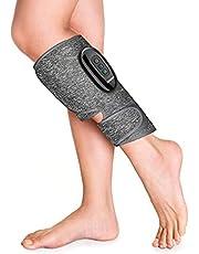 Draadloze beenmassageapparaat voor bloedsomloop, RENPHO Calf Ankle Wraps luchtcompressiemassageapparaat met oplaadbaar apparaat, 3 modi en 3 intensiteiten om vermoeidheid te verlichten, voor geschenken van moeder en vader, 1 pc
