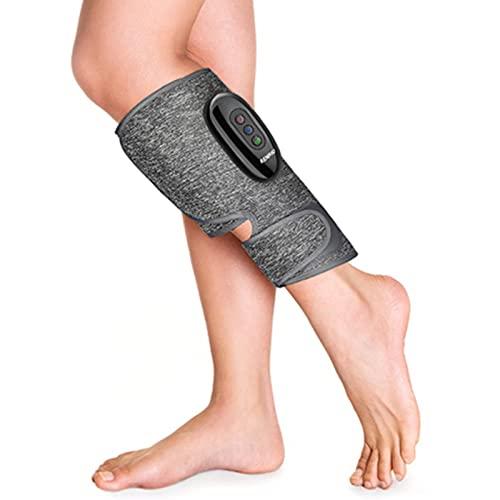 RENPHO Massaggiatore Gambe, Fascia Massaggiatrice Cordless Ricaricabile per Polpaccio e Caviglie, Migliora la Circolazione, Allieva Dolori e Rilassa I Muscoli come regalo per i genitori 1pz