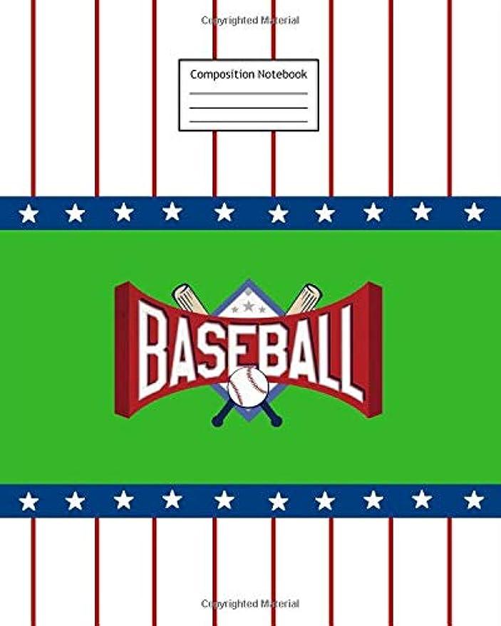 窓ヤギ道徳教育Composition Notebook: Baseball | 8