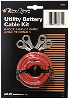 Deka East Penn 00131 Lawn & Garden Tractor Battery Cable Kit