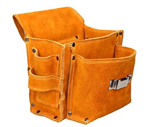 Bolsa herramientas Organizadores cuero pouch tool bag carpintero