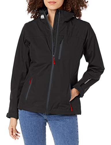 Helly Hansen W Crew Midlayer Jacket - Chaqueta para Mujer, Negro (Black 990), L
