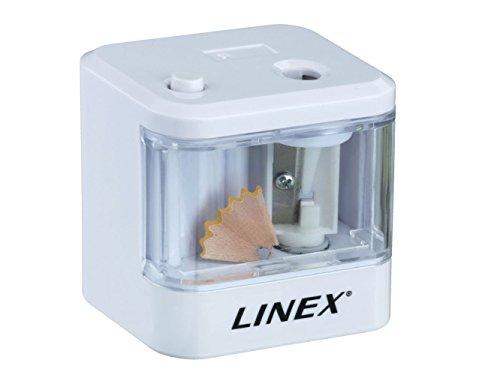 Linex 400098695 Taille-crayons électrique Blanc