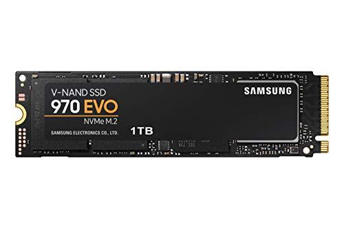 Samsung Memorie MZ-V7E1T0 970 EVO SSD Interno da 1 TB, NVMe M.2