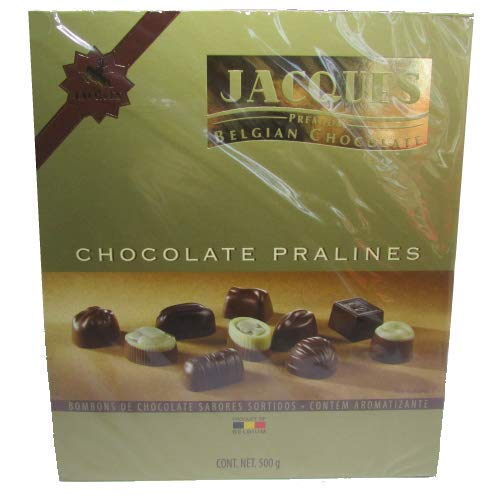 Jacques Premium - Belgium Pralines Assorted - Chocolates Sortidos - Importado da Bélgica