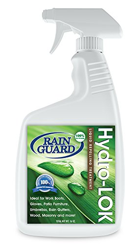 Rain Guard Water Sealers TV205443 Hydro-LOK Repellent, 16 oz. Can be Used to Seal All Fabrics, Wood and Concrete Surfaces