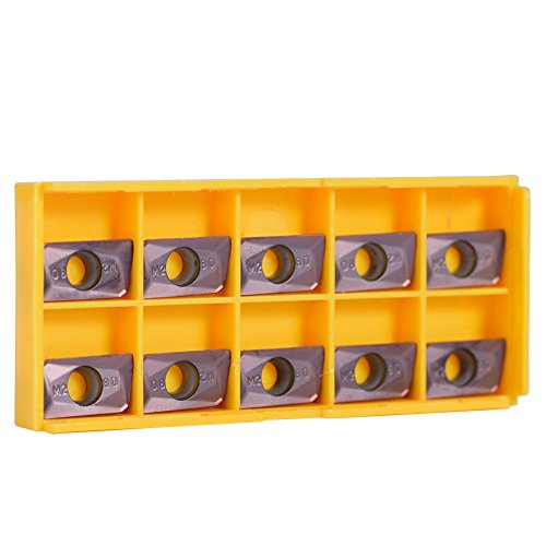 10Pcs Cemented Carbide CNC Turning Inserts Spade Blade Inserts for Lathe Cutting Machine