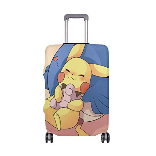 Travel Lage Cover Sleeping Cute Cartoon Theme Suitcase Protector Fits 26-28 Inch Washable Baggage Covers