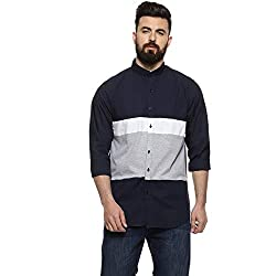 Campus Sutra Mens Cotton Casual Shirt