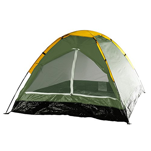 2-Person Tent, Dome Tents for Camping with Carry Bag by Wakeman Outdoors (Camping Gear for Hiking,...