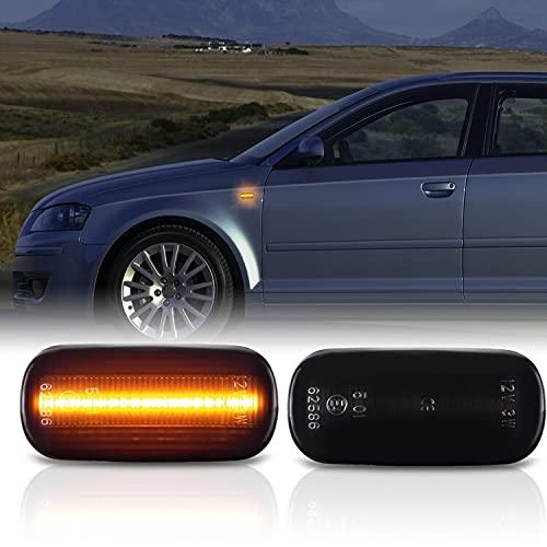LED SEITENBLINKER passend für Audi A4 | Typ B6 B7 | BJ 2000-2009 | SCHWARZ