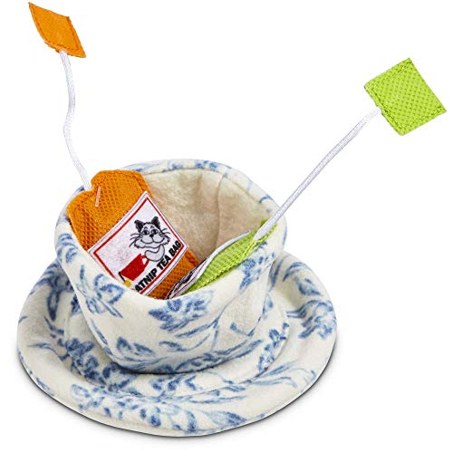 Petco Brand - Leaps & Bounds Teacup Cat Toy, One Size Fits All, Multi-Color