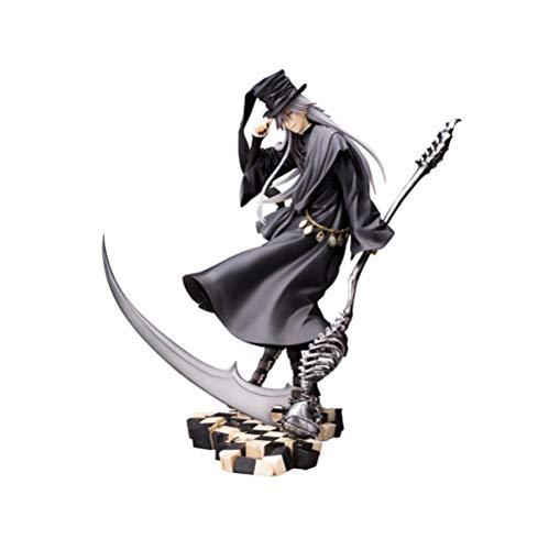 VENDISART Anime Black Butler Buch des Zirkus Undertaker Statue PVC Actionfigur Anime Figur Sammlermodell Spielzeug 18cm