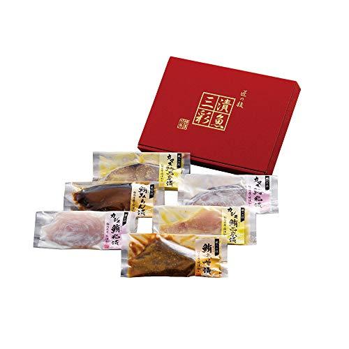 漬魚三彩 粕漬け 西京漬け 味噌漬け 油漬け カジキマグロ キハダマグロ さわら TUS30S