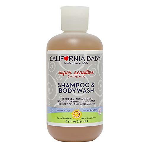 California Baby Super Sensitive Shampoo and Body Wash